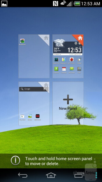 The Pantech Discover is running a customized Android UI on top of Android 4.0.4 ICS - Pantech Discover Review