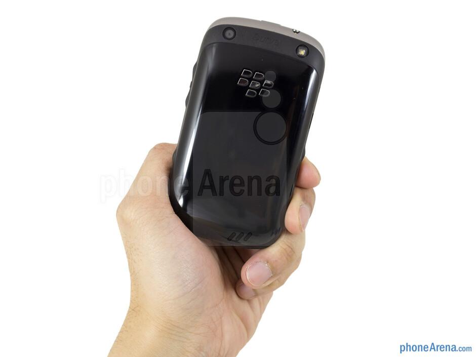 The RIM BlackBerry Curve 9315 has an all-plastic construction - RIM BlackBerry Curve 9315 Review