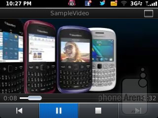 Music and video players of the RIM BlackBerry Curve 9315 - RIM BlackBerry Curve 9315 Review