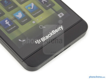 BlackBerry buttons - BlackBerry Z10 Review
