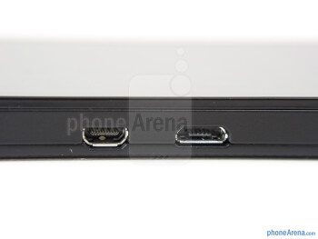 microUSB and microHDMI ports - BlackBerry Z10 Review