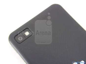 Rear camera - BlackBerry Z10 Review