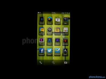 Viewing angles - Color production - BlackBerry Z10 Review