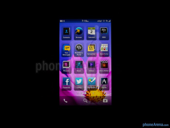 Color production - BlackBerry Z10 Review