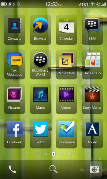 The new UI of BlackBerry OS 10 - BlackBerry 10 Review