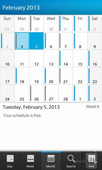 Organizer apps - BlackBerry 10 Review