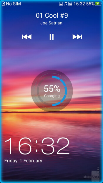 Lockscreen - Oppo Find 5 Review