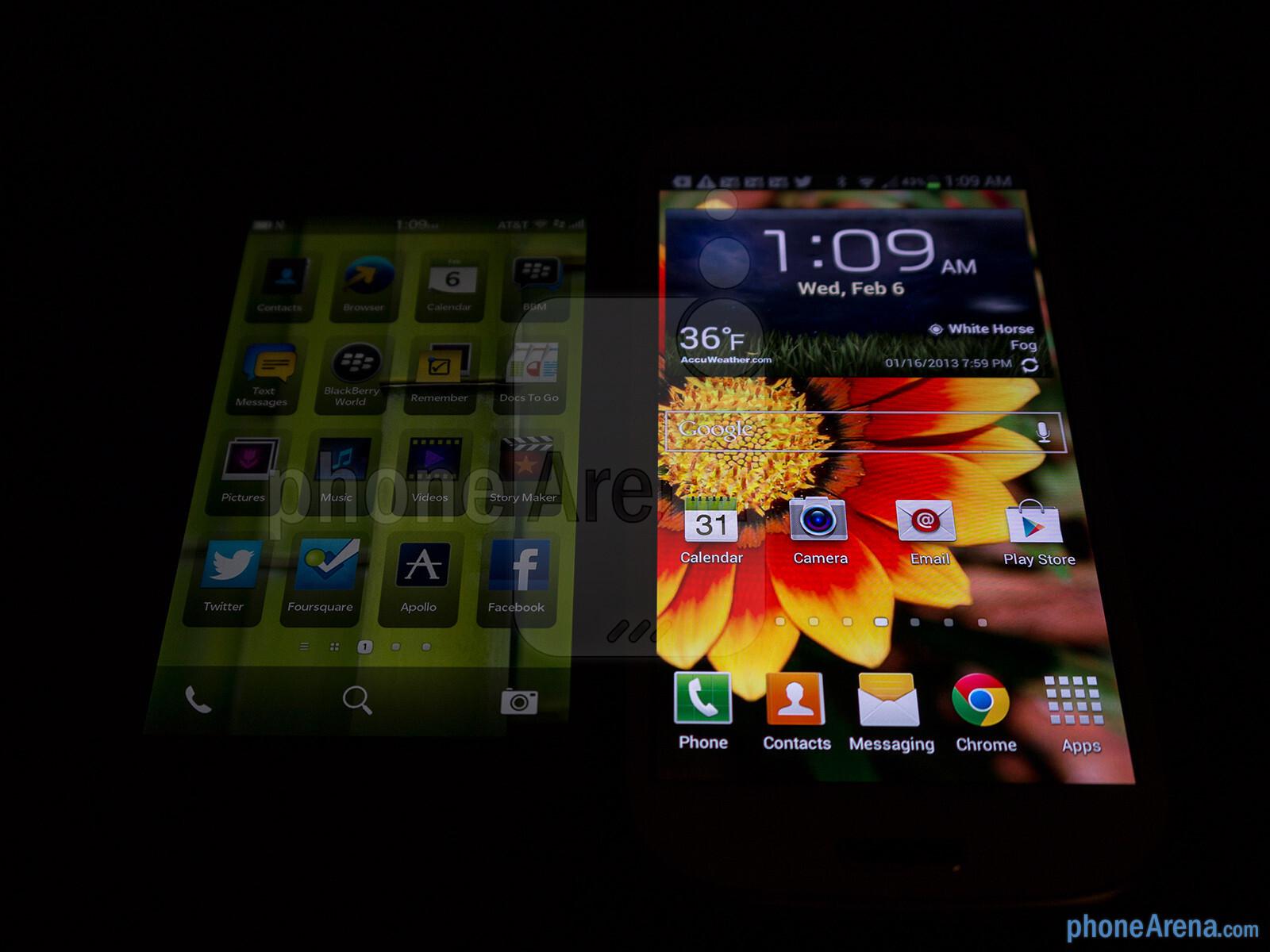 BlackBerry Z10 vs Samsung Galaxy S III - PhoneArena