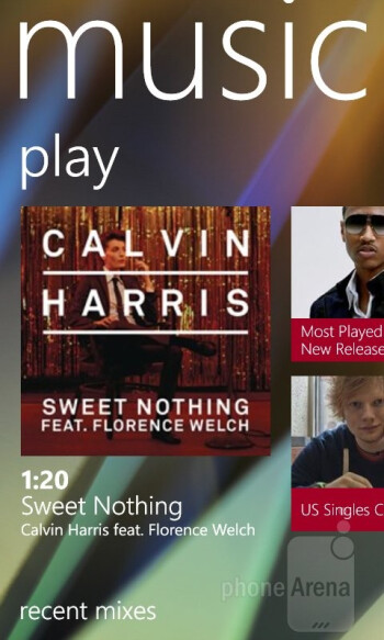 Xbox Music Store - Nokia Lumia 620 Review