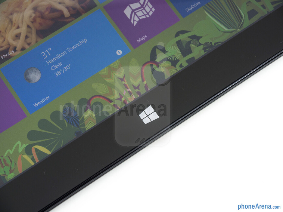 Capacitive Start button - Microsoft Surface Pro Review