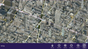 Bing Maps - Microsoft Surface Pro Review