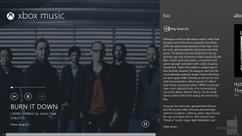 The Music Hub on the Microsoft Surface Pro - Microsoft Surface Pro vs Apple iPad 4
