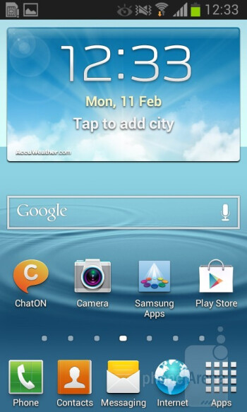 The Galaxy Xcover 2 runs the latest Nature UX on top of Android 4.1.2 Jelly Bean - Samsung Galaxy Xcover 2 Review