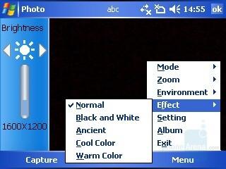 Camera Interface - i-mate JAQ3 Review