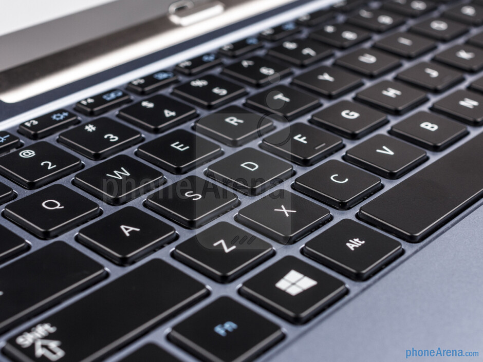 The keyboard buttons - Samsung ATIV Smart PC Review