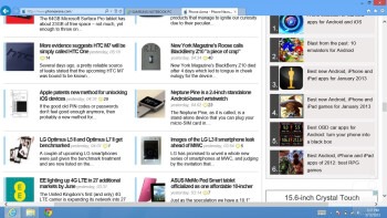 The new Internet Explorer 10 app - Samsung ATIV Smart PC Review