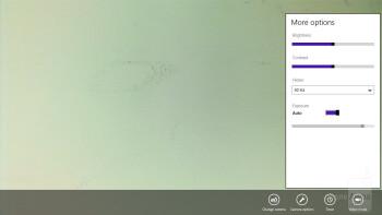 Camera interface - Samsung ATIV Smart PC Review
