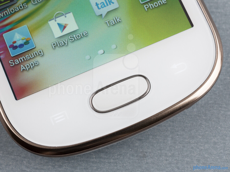 Android keys - Samsung Galaxy Fame Preview