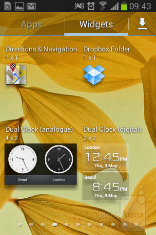 Тhe Samsung Galaxy Fame comes with a relatively recent version of Android – 4.1.2 Jelly Bean - Samsung Galaxy Fame Preview
