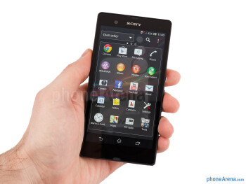 The Sony Xperia Z is a super-thin smartphone at only 7.9 mm - Sony Xperia Z Review
