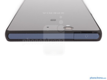 Top - The sides of the Xperia Z - Sony Xperia Z Review