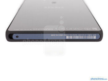 Bottom - The sides of the Xperia Z - Sony Xperia Z Review