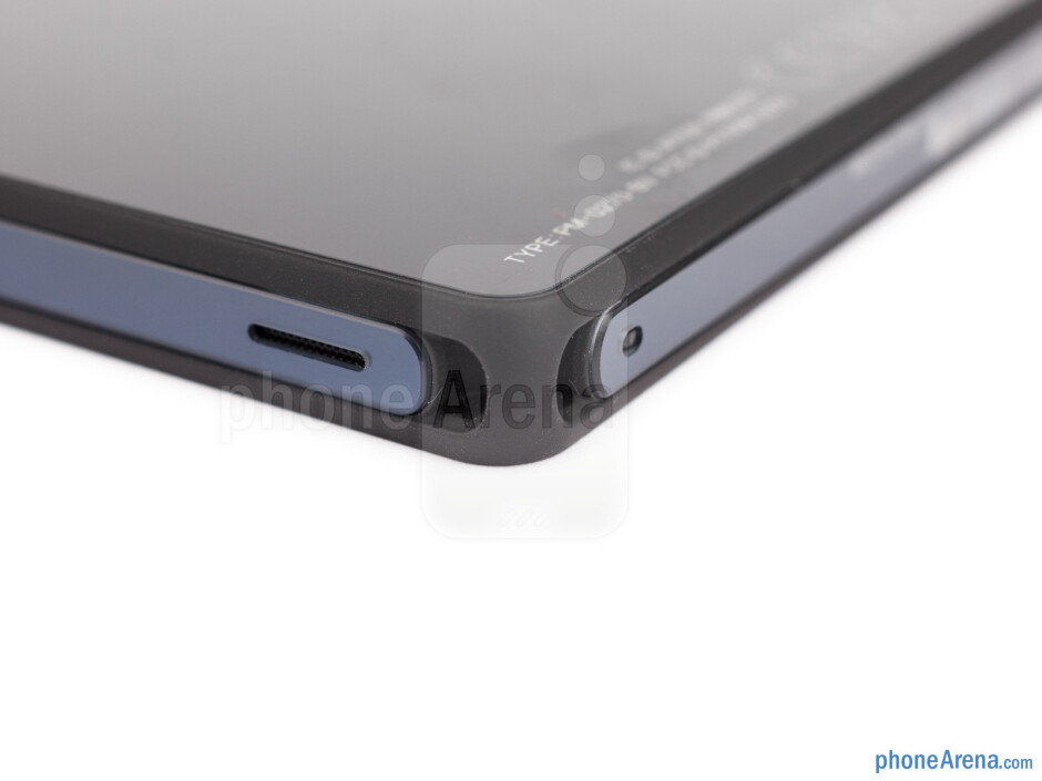 Instead of using a soft-touch plastic for the back panel, Sony has went with an all-glass design - Sony Xperia Z Review