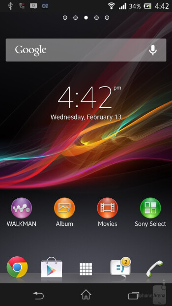 Sony Xperia Z comes straight with Android 4.1.2 Jelly Bean - Sony Xperia Z vs Apple iPhone 5