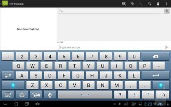 Keyboard when docked on the Padfone Station - Asus Padfone 2 Review