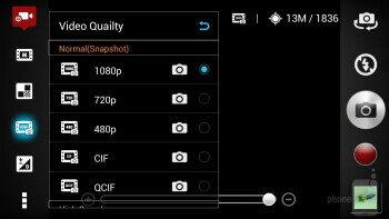 Interface of the 13-megapixel shooter - Asus Padfone 2 Review