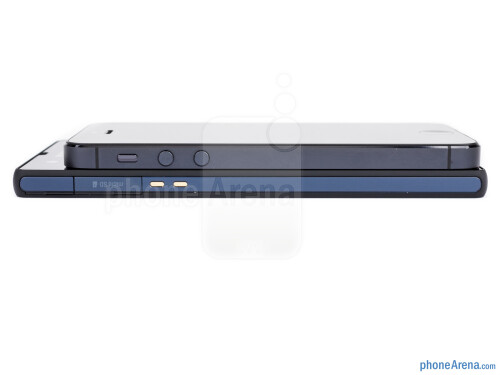 Sony Xperia Z vs Apple iPhone 5