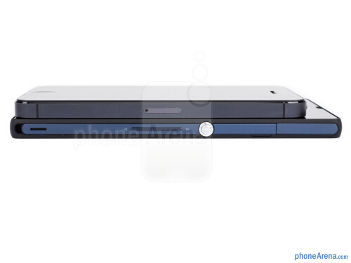 Sony Xperia Z vs Apple iPhone 5