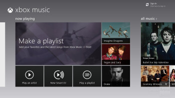 The new Music Hub for Windows 8 - Asus VivoTab Smart Review