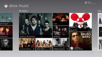 The new Music Hub for Windows 8 - Asus VivoTab Smart Review