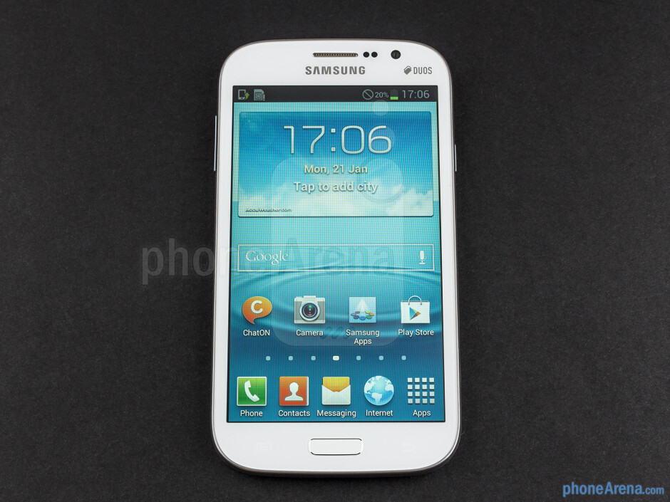 Front - Samsung Galaxy Grand Duos Review