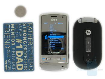LG KU970 and Motorola PEBL - LG KU970 Shine Review
