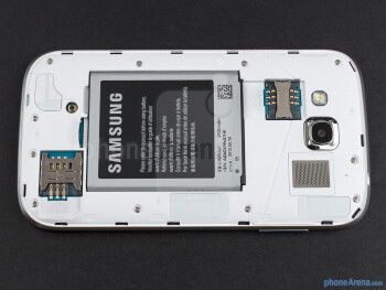 Battery compartment - Samsung Galaxy Grand Duos Review