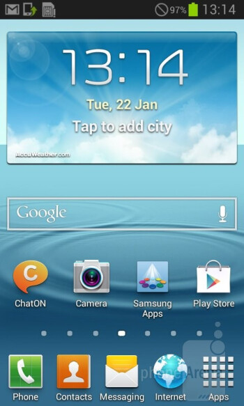 Samsung has graced the Grand DUOS with the Nature UX - Samsung Galaxy Grand Duos Review