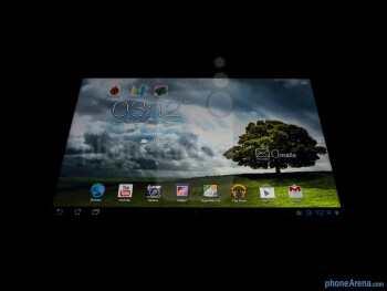 Viewing angles of the Asus MeMO Pad Smart 10 - Asus MeMO Pad Smart 10 Review