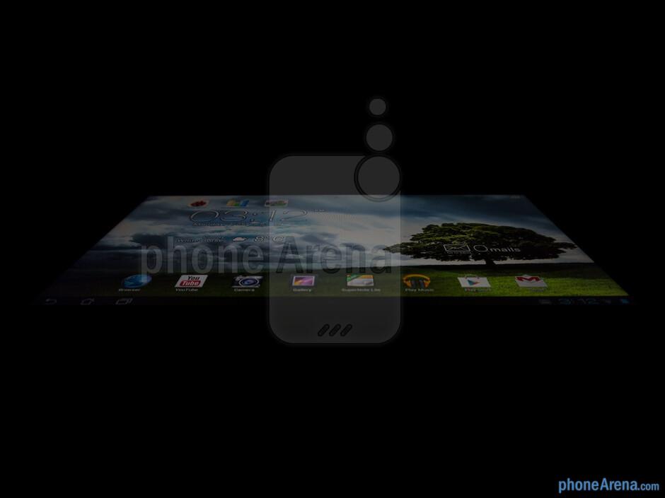 Viewing angles of the Asus MeMO Pad Smart 10 - Asus MeMO Pad Smart 10 Review