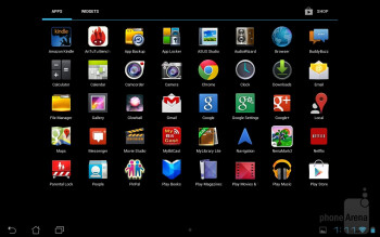 The Asus MeMO Pad Smart 10 is running a mostly stock Android 4.1.1 Jelly Bean experience - Asus MeMO Pad Smart 10 Review