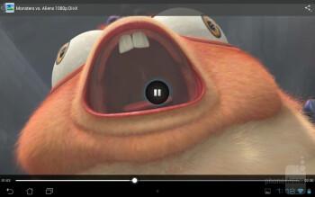 Video playback - Asus MeMO Pad Smart 10 Review