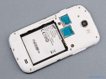 Battery compartment - Back - Samsung Galaxy Express Review