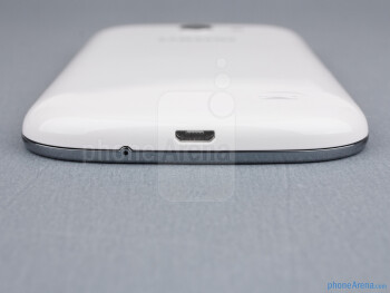 microUSB port (bottom) - The sides of the Samsung Galaxy Express - Samsung Galaxy Express Review