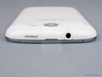 3.5mm jack (top) - The sides of the Samsung Galaxy Express - Samsung Galaxy Express Review