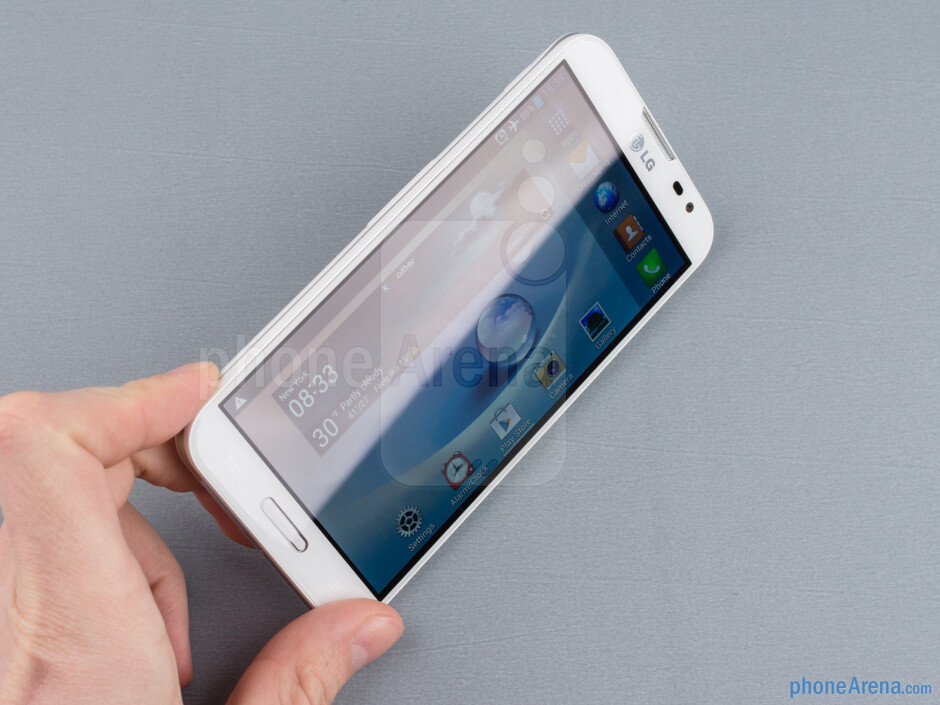 The LG Optimus G Pro is certainly the most manageable device of these XXL screen sizes out there - LG Optimus G Pro Review