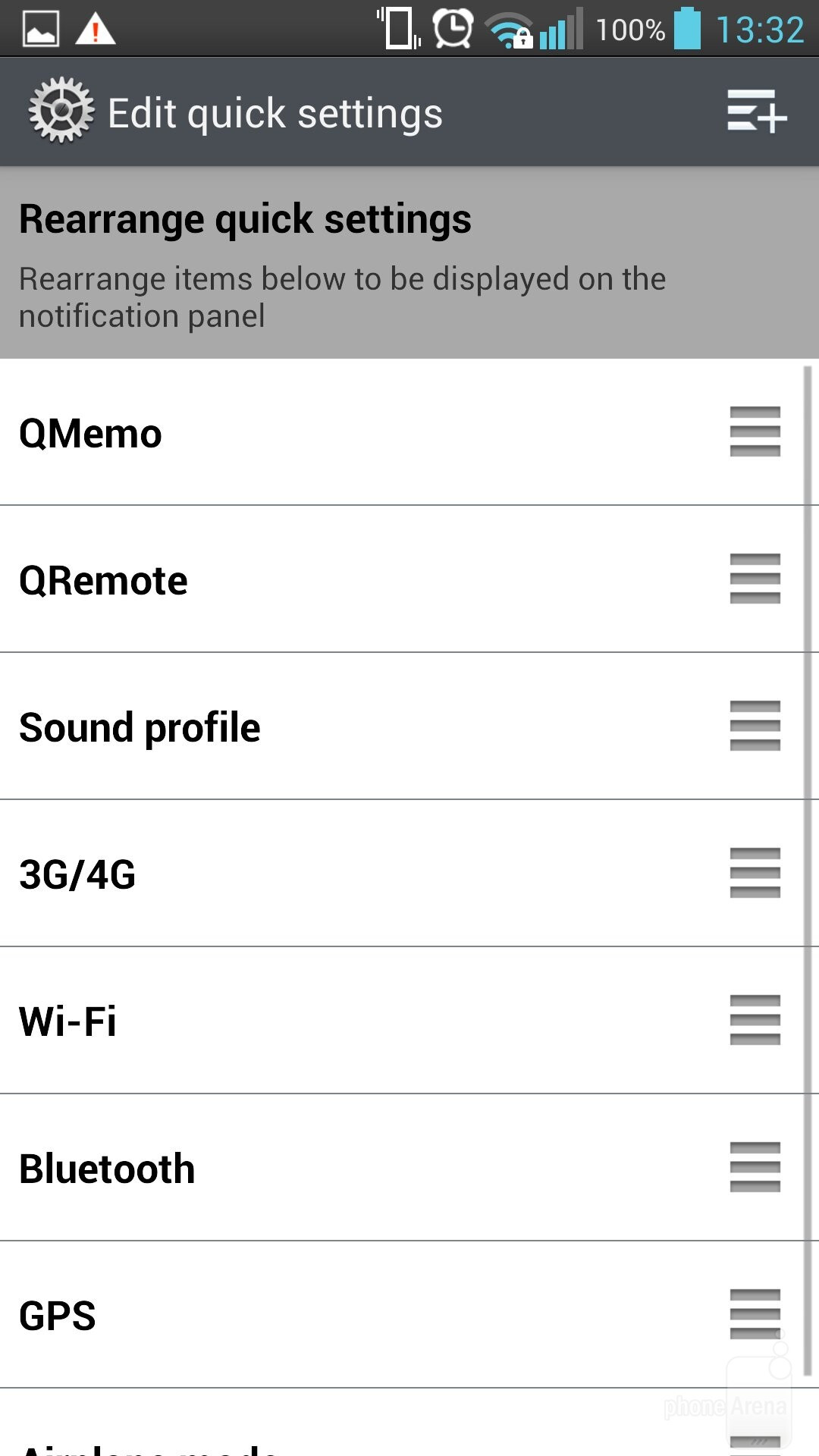 The Connectivity Toggles Slider Idea Of Lg Lg Optimus G Pro Review  Screenshot_20140827185843