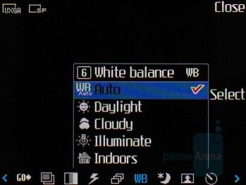 Camera interface - LG KU970 Shine Review