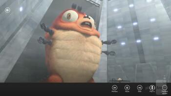 Playing 1080p videos is sluggish - Lenovo ThinkPad Tablet 2 Review