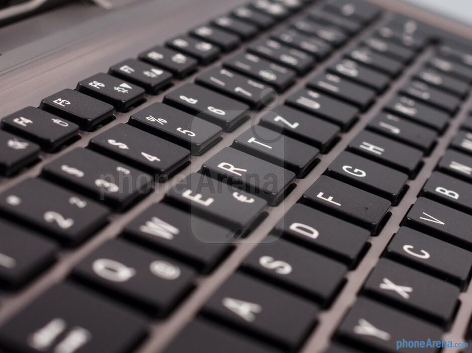 The keyboard station of the Fujitsu Stylistic - Fujitsu Stylistic Review